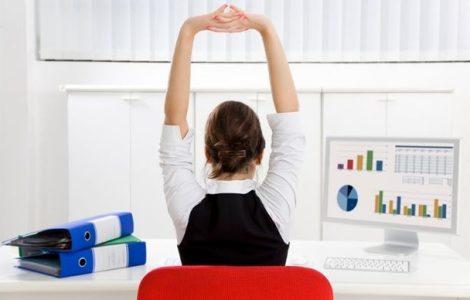 Комплекс упражнений для сидячей работы